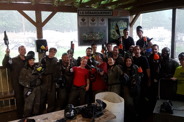 Paintball Team Building 1